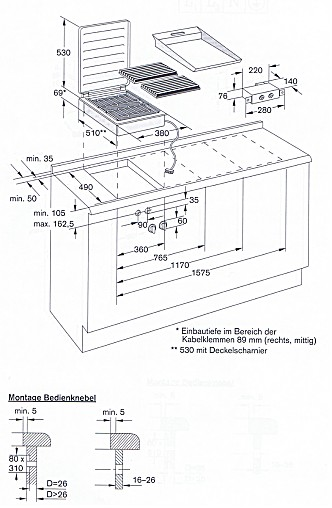 kochfeld vr421 100 grillplatte offener gussrost lavasteine 30 cm breit gaggenau k chenger t. Black Bedroom Furniture Sets. Home Design Ideas