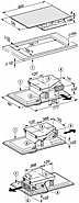 dunstabzug kmda 7774 fl inkl umbausatz f r umluftbetrieb induktionskochfeld mit integriertem. Black Bedroom Furniture Sets. Home Design Ideas