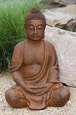 accessoires und deko buddha buddha sitzend sonstige m bel von einrichtungsstudio scharfm ller. Black Bedroom Furniture Sets. Home Design Ideas