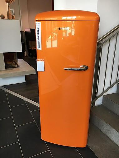 k hlschrank retro k hlschrank farbe 39 orange 39 gorenje k chenger t von wohnen kochen leben in. Black Bedroom Furniture Sets. Home Design Ideas