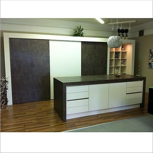 Schmidt küchen arani micron kombiniert mit loft micron ausstellungsküche
