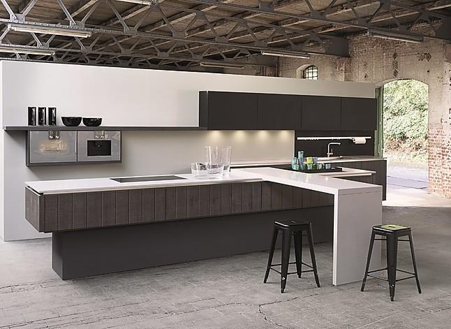 h cker musterk che luxus industrial grifflose design k che. Black Bedroom Furniture Sets. Home Design Ideas