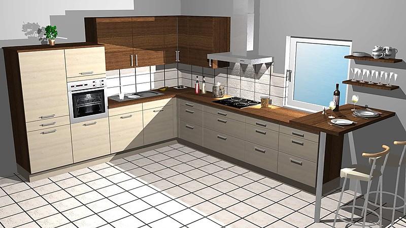Küchen L Form Holz | arkhia.com | {Küchen l form mit theke 57}