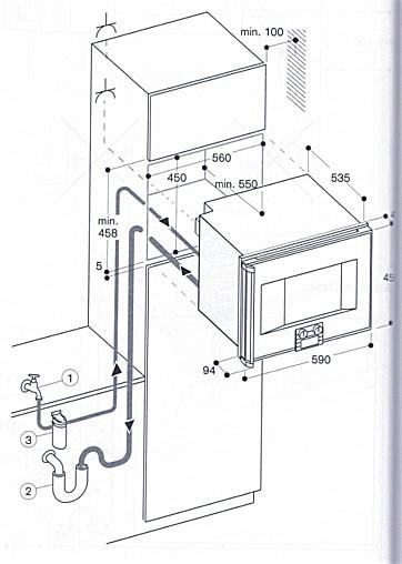 dampfgarer und kombiger te bs 275 110 dampfbackofen mit festwasseranschluss gaggenau. Black Bedroom Furniture Sets. Home Design Ideas