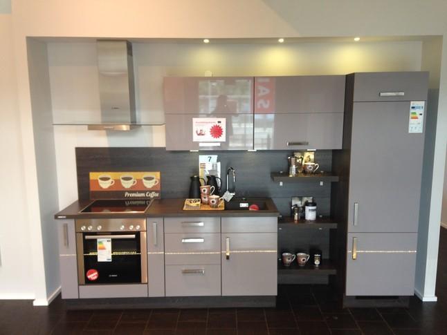Xeno Küchen-Musterküche Single Küche mit dunkler ...